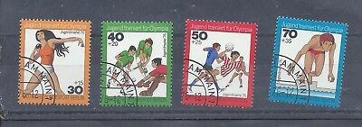 Berlin West Germany stamps. 1976 Youth Welfare used (A636)