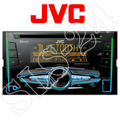 JVC KW-R520E Moniceiver Autoradio CD USB AUX KFZ Radio Doppel 2-DIN CAR B-Ware