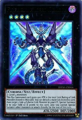 Firewall eXceed Dragon - DANE-EN036 - Ultra Rare 1st Edition NM Dark