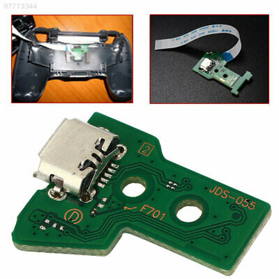 AC20 USB Charging Port Board JDS-050 12 Pin Cable Controller for PS4 Controller