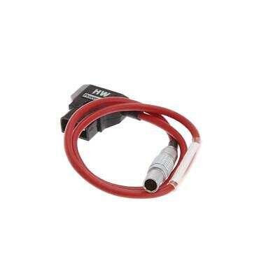 TimeCode Systems LEMO 2-Pin to D-Tap Power Cable - SKU#1124591