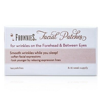 Frownies Facial Patches (For Forehead & Between Eyes) 144 Patches Womens Skin