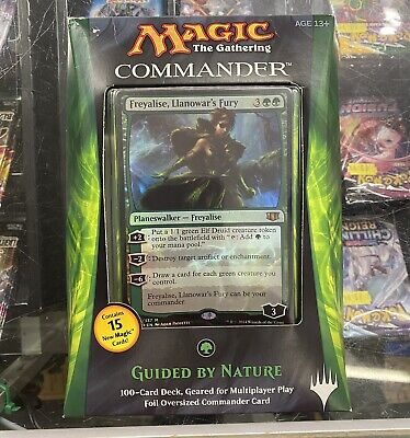 Magic the Gathering MTG Freyalise Guided By Nature Commander Deck