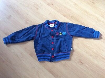 Thomas Land Tank Engine Train Age 2-3 Year Button Up Top Jacket Kids Boy Drayton