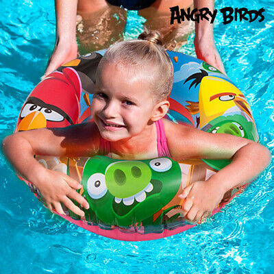 Ciambella Salvagente Gonfiabile Bambini Angry Birds Bestway 56cm Mare Piscina