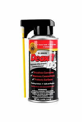Hosa CAIG Laboratories DeoxIt 5% Spray Electrical Contact Cleaner 5oz. Free Ship