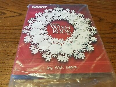 2010 Sears Canada Christmas Wish Book Catalog New Sealed Package Toys Clothes TV