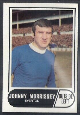 A&Bc-Football 1969 Green Back Facts-#022- Everton - Johnny Morrissey
