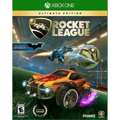 Rocket League Ultimate Edition (Xbox One, 2018) Brand NEW Sealed