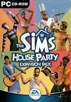 The Sims: House Party Expansion Pack (PC) - Free Postage
