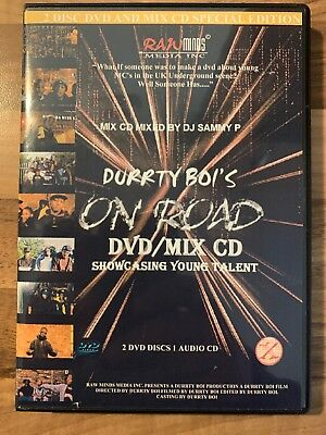 Durrty Boi's On Road DVD/Mix CD Show Casing Young Talent Grime 2xDVD + 1CD