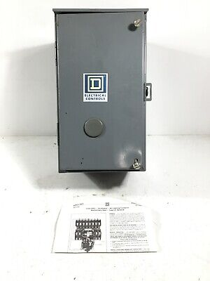 NEW Square D 8903-LXA1200 AC Lighting Contactor, 120V Coil, 20 A