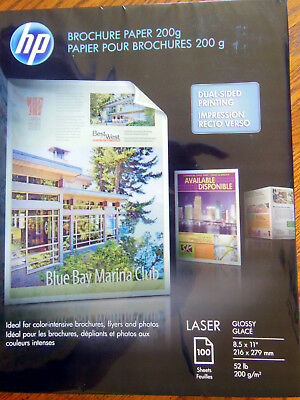 HP BROCHURE PAPER Glossy - Laser 150 Sheets 8 5