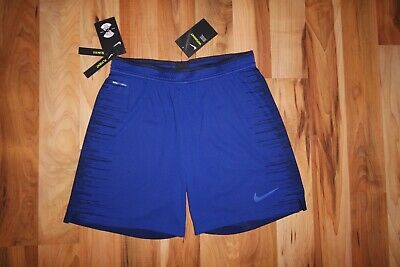 861b37097b5c Nike Vaporknit Repel Strike 2.0 Football Traning Shorts 892889 457 BLUE M  NEW