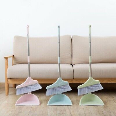Long Handle Dustpan Brush Set Lobby Dust Pan Broom Household Sweeping Cleaning