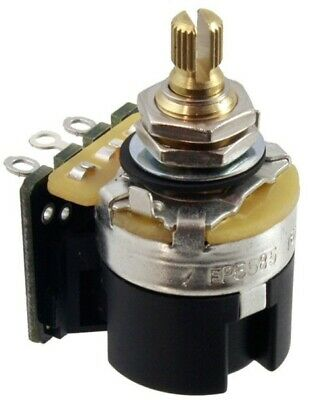 NEW - CTS Premium 500K DPDT Push/Pull Audio Taper Pot