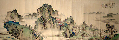 Large Chinese Painting Attr. to Chen Shaomei 陈少梅 (1909-1954)