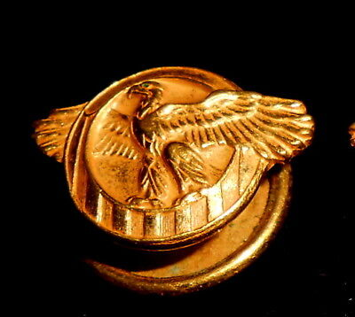 WWII US HONORABLE Discharge Lapel Pin Ruptured Duck Screw
