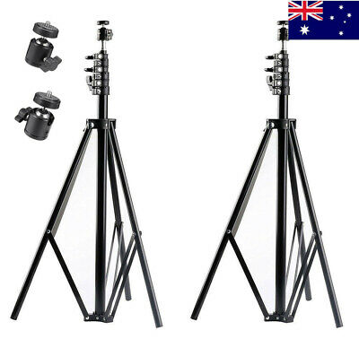 A Pair of 2.6m 8.5FT Umbrella Stand Tripod Light Lamp For HTC VIVE/VIVE Pro