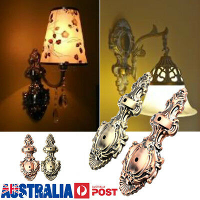 Antique Vintage Style Thrift Retro Lantern Wall Lamp Lights Base Holder Fixtures
