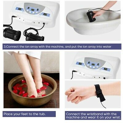Body Detox Machine In Array Music Foot Bath Spa Cleanse Ionic Machine With Mp3