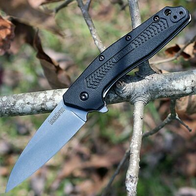 Kershaw Dividend Knife With SpeedSafe Assisted Opening Mechanism - Made in USA