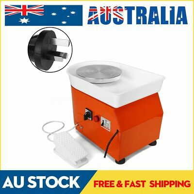 Electric Pottery Wheel Machine Flexible Pedal Ceramic Craft Family Couple