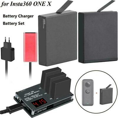 Extra Rechargeable Low Temperature Battery for Insta360 ONE X w/ Battery Charger