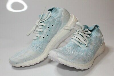 85c7bd1b2 Adidas Mens 10 44 Ultraboost Uncaged Parley Sneakers Running Shoes CP9686  NEW