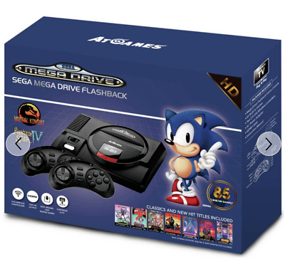 * SEGA Mega Drive Flashback with 85 Games * Boxed * Excellent Condition *