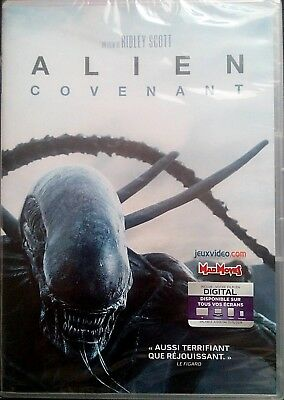 Alien Covenant     Dvd    Neuf Sous Blister