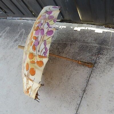 Antique Vintage pargon S FOX AND CO LTD sun Umbrella