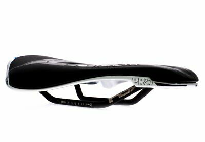 Shimano PRO Stealth Off-Road MTB GRAVERL Saddle//Seat Stainless Rail 142mm Black