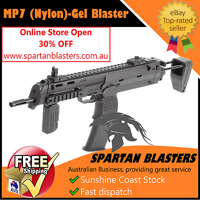 New MP7 Gel Ball Blaster Toy Gelsoft Gun Water Crystal Bullet Outdoor AU STOCK