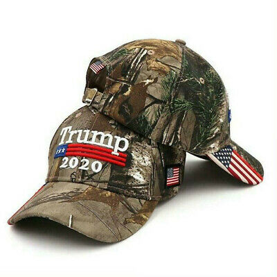 2019 Fashion Donald Trump USA Baseball Cap President 2020 Flag Mossy Oak Hat