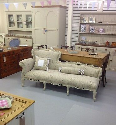 Vintage French Rococo Sofa,Bench,chair,chaise,Chestfield,furniture Showroom Kent