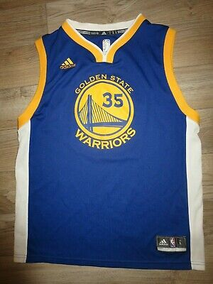 684acdcd05f Kevin Durant  35 Golden State Warriors NBA Adidas Jersey Youth L 14-16  children