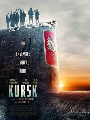 """Kursk"" 2018 Dvd Factory Sealed Brand New Pre Sale Ships 5/21 Free Shipping"