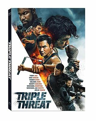 """""""Triple Threat"""" 2019 Dvd Free Shipping Brand New Factory Sealed"""