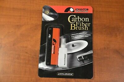 Collector Protector Carbon Fiber Brush Record Cleaner - NEW!