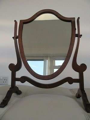 Edwardian Mahogany Dressing Table Mirror