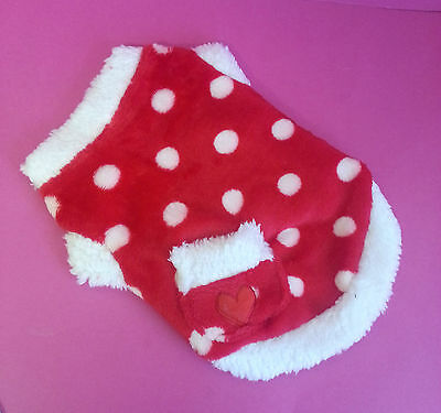 Red Spotty Dog Chihuahua Puppy Maltese Small 25Cm Yorkie Maltese Toy