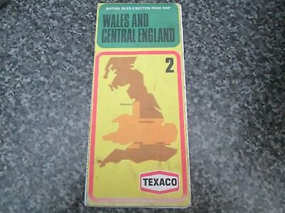 Wales and Central England  Texaco map