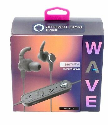 NEW AMAZON ALEXA Enabled Wave Bluetooth÷Wireless Earbuds-Ear