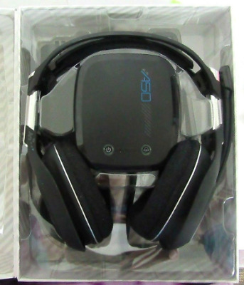 ASTRO A50 Wireless Gaming Headset for PS4 & PC w/ box ALL accessories Fast Ship!