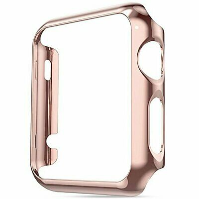 Super Thin PC Plating Bumper Resistant Protector Case for Apple Watch Series 4 4
