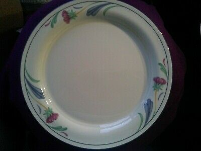 Lenox 10.75in Poppies on Blue Dinner Plate
