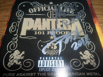 PANTERA signed autographed  cd by PHIL ANSELMO