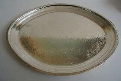 Reed& Barton Sterling Silver Tray Modernism