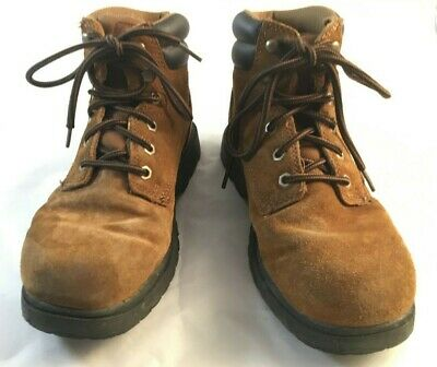 29bab2c518e MT EVEREST SUMMER 5 Leather Hiking Boots Womens 8 Mens 6 Light Brown ...